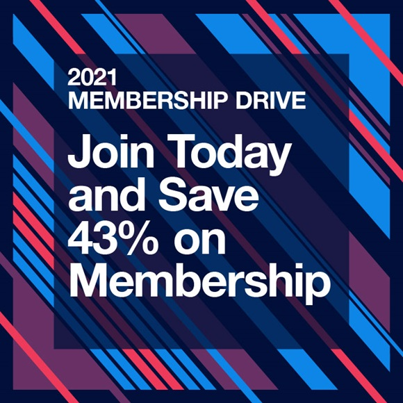 Join Today and Save 43% on Membership